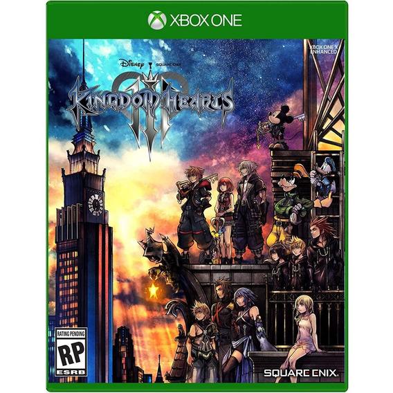 Kingdom Hearts Iii Xbox One Mídia Física