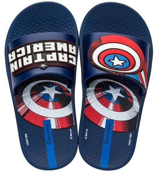 Sandália Ipanema Avengers Sli - Azul/azul