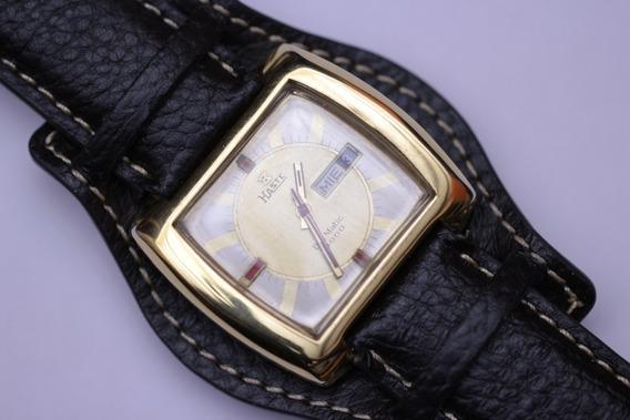 Reloj Haste Automatico Con Doble Fechador De Los Años 70´s