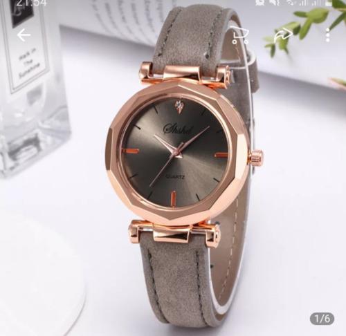 Relógio Feminino Ouro Rosé Quartz