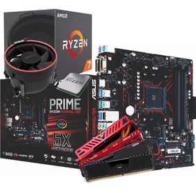 Kit Amd Ryzen R7 2700 Mb B450m G 2x 8gb Ddr4 2400mhz I