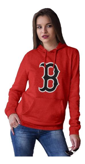Sudadera Mujer Boston Red Sox Mod-1