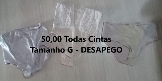 Lote De Cintas Tamanho G - Desapego