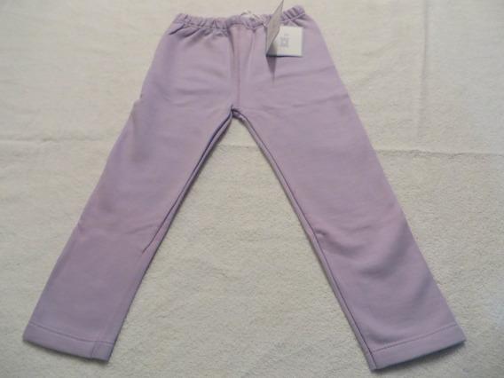 Pantalón De Algodón Liso Para Niña Recto