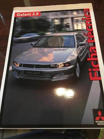 Follero Publicitario Mitsubishi Galant