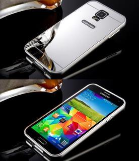 Capa Samsung Galaxy S5 G900 I9600 Cinza Espelhada