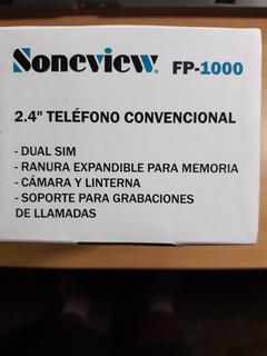 Teléfono Celular Soneview Fp-100.