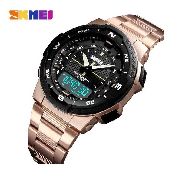 Promoção Relógio Skmei 1370 De Pulso Analógico E Digital