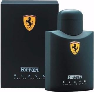 Perfume Ferrari Black 125ml 100% Original