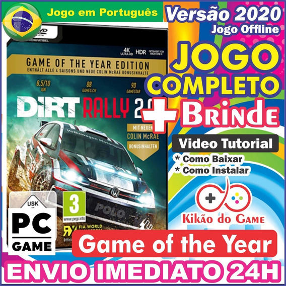Dirt Rally 2.0 Game Of The Year Pc Digital Br + Brinde