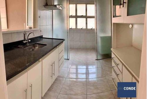 Imagem 1 de 15 de Apartamento Para Comprar No Jardim Ampliação Com 3 Quartos - 62029886
