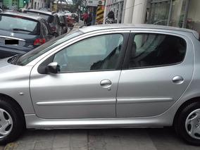 Peugeot 206 1.9 D Premium Gris Plata