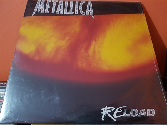 Metallica Reload Vinilo Lp Doble 180gr