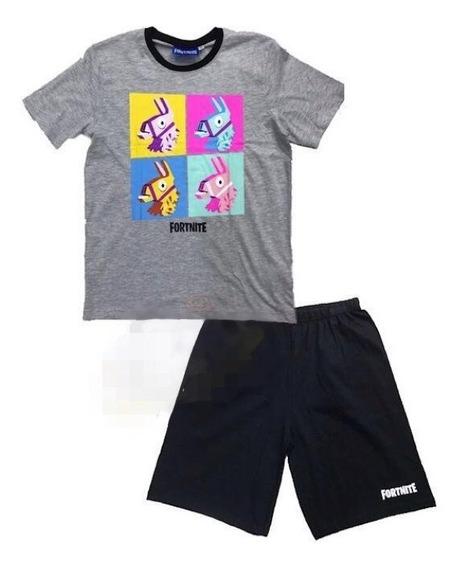 Pijama Fortnite Para Niño Talla 10-12
