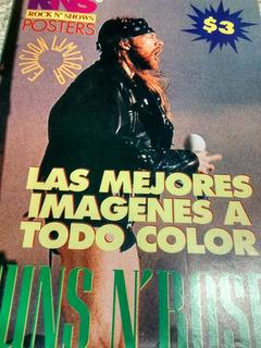 Posters Guns N Roses. 8 Fotos De Su Epoca De Oro.