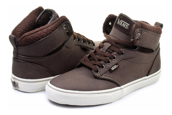 Zapatillas Vans Atwood Hi Brown Talle 10.5 Us 43 Botitas Usa