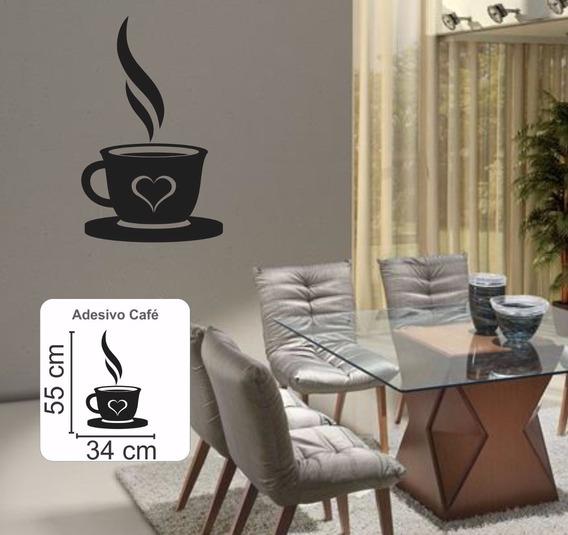 Adesivo Decorativo Parede Geladeira Cozinha Xícara Café Decore Sua Casa