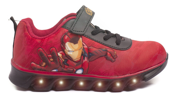Zapatillas Atomik Marvel Smash Ironman-mvl013roj- Open Sport