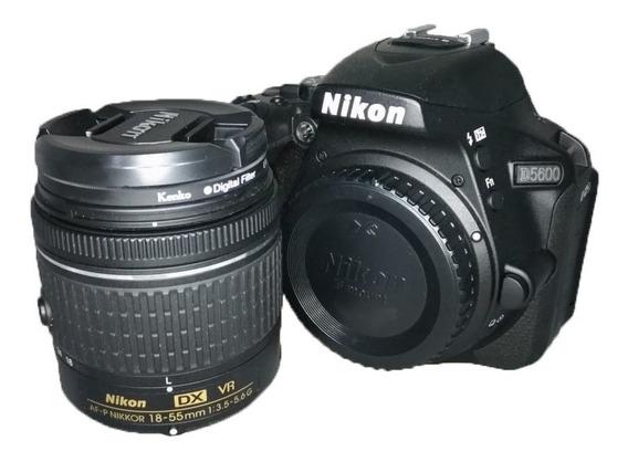 Câmera Nikon D5600 Lente 18-55mm Otimo Estado Semi Nova