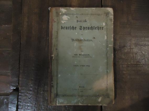 Antigo Livro Alemao 1881 Barato