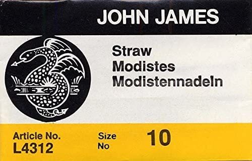 Colonial Needle 25count John James Milliners/paja Uncarded