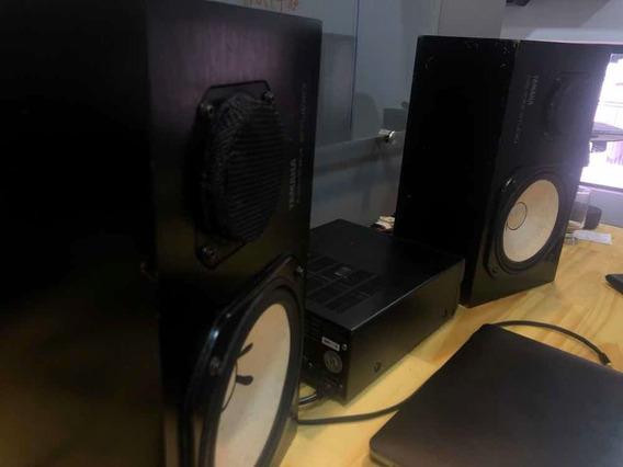 Ns10 M Studio + Amplificador Yamaha A100a