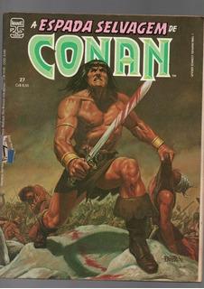 08 Revistas Hq A Espada Selvagem De Conan (a-5425)