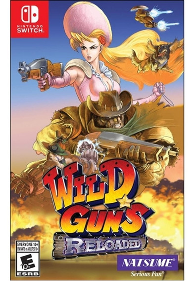 Wild Guns Reloaded Switch Mídia Física