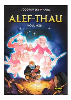 Alef Thau Vol. 1 - Ed. Norma - Alejandro Jodorowsky - Arno