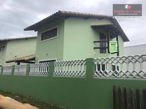 Casa Com 3 Dormitórios À Venda, 90 M² Por R$ 270.000,00 - Orla 500 (tamoios) - Cabo Frio/rj - Ca0192