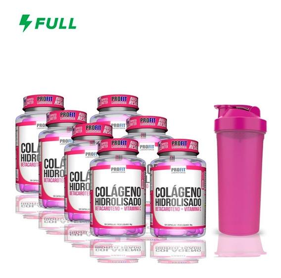 7 Colágeno Hidrolisado - 120 Cápsulas Cada - Profit Labs