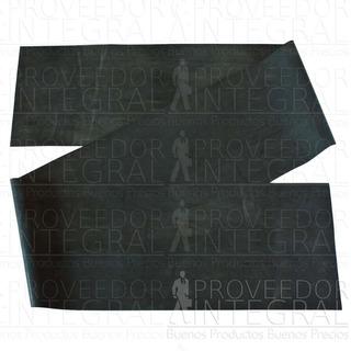 Banda Elástica Nivel5 Negra Negro 1mt X 10 Unidades Teraband