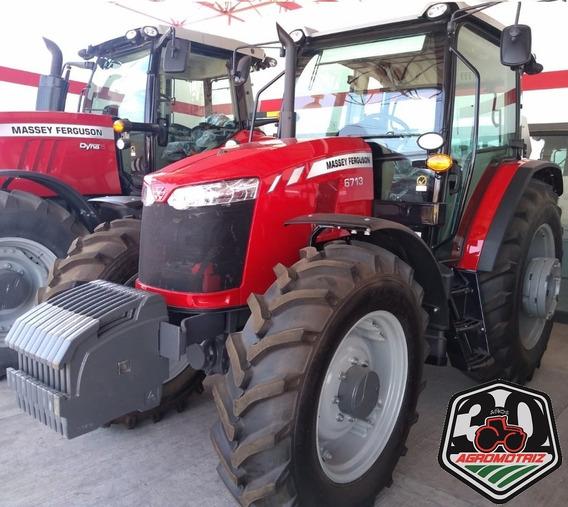 Tractor Agrícola Massey Ferguson Mf6713 Nuevo De 132hp