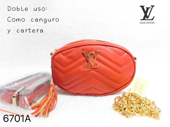Louis Vuitton Canguro Y Cartera 2en 1