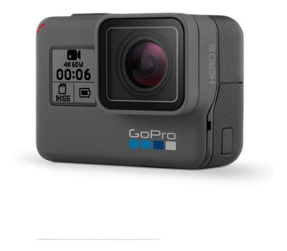 Camera Gopro Hero 6 Black + Cartão 200gb Memória