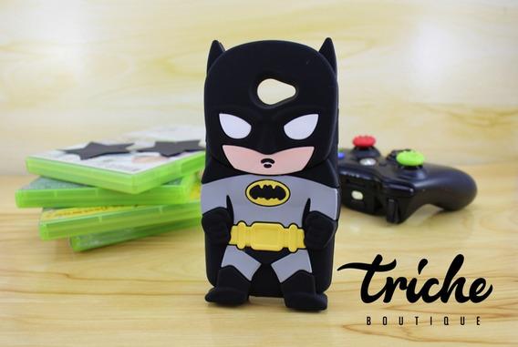 Funda / Botarga De Batman Para Lg K5 Lg Q6