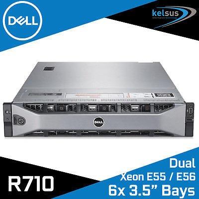 Dell Poweredge R710 2 Quadcore E5540 12gb Ram Hd 2x300gb Sas