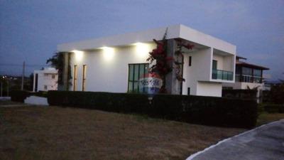 Excelente Casa Duplex Em Condomínio Fechado Com 04 Suites - Lazer Completo Campo De Golfe 04 Lagos Para Pesca - Ca0163