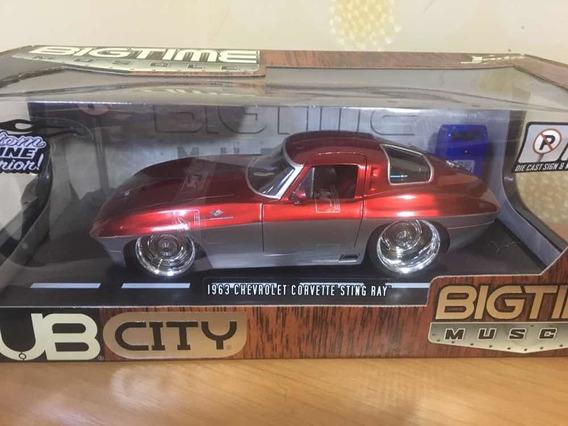 Corvette Sting Ray 1/18 Série Dub Jada Toys Todo Personali