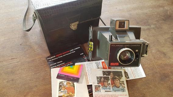 Câmera Máquina Fotográfica Polaroid Square Shooter