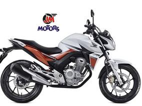 Jm-motors Honda Cb250 Blanc Twister 2018 Linea Nueva Permuto
