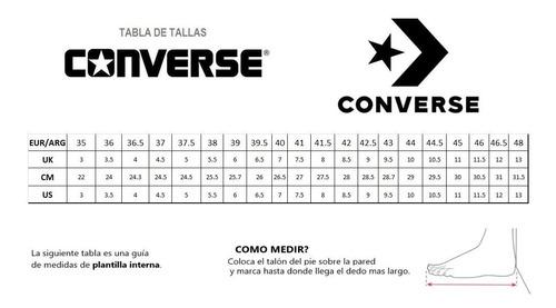 leninismo Umeki Banco  Zapatillas Converse Cuero Toda Negra All Star Chuck Taylor | Mercado Libre