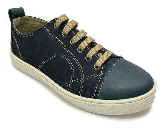 Zapatos Sneakers Romano Niño Marrón Rm 7111 Corpez 44