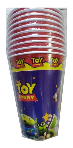 Toy Story Buzz & Woody Paq 100 Vasos Fiesta 350 Ml Disney