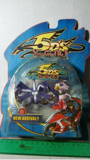 Muñecos Yu-gi-oh Sonic-chick/ Montage-dragon En Blister