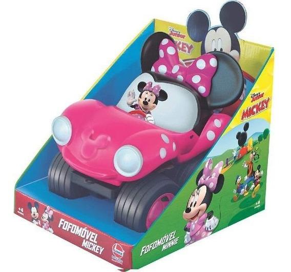 Carrinho Fofomovel Disney Minnie Lider 2882