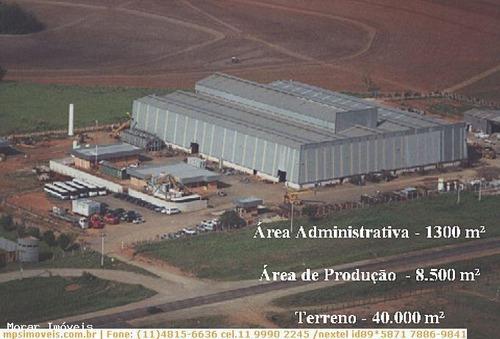 Imagem 1 de 4 de Galpão Para Locação Em Piracicaba, Loteamento Distrito Industrial Uninorte - Mps100_2-727569