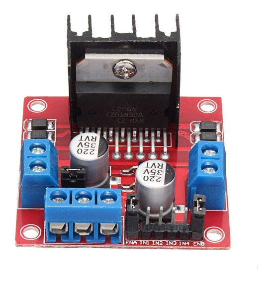 3x Driver Motor Ponte H L298n + Código Arduino = 3 Unidades