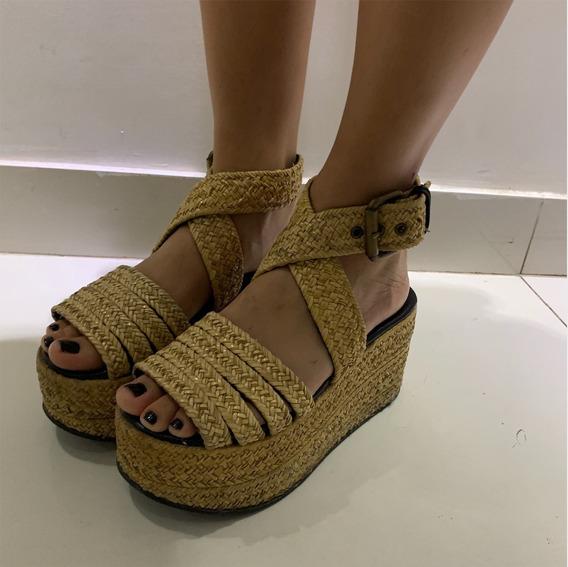 Zapatos Mishka Yute Plataforma - Talle 37