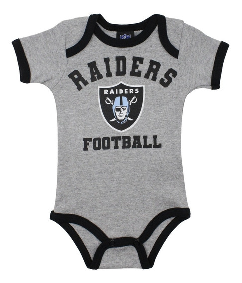 Oferta Nfl Pañalero Bebé Raiders Football Americano